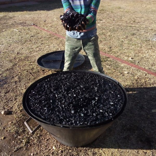 Using biochar in animal feeding to reduce greenhouse gasses emission